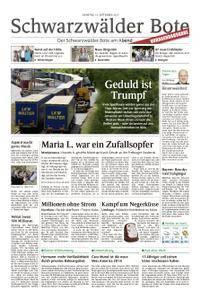 Schwarzwälder Bote Hechingen - 12. September 2017