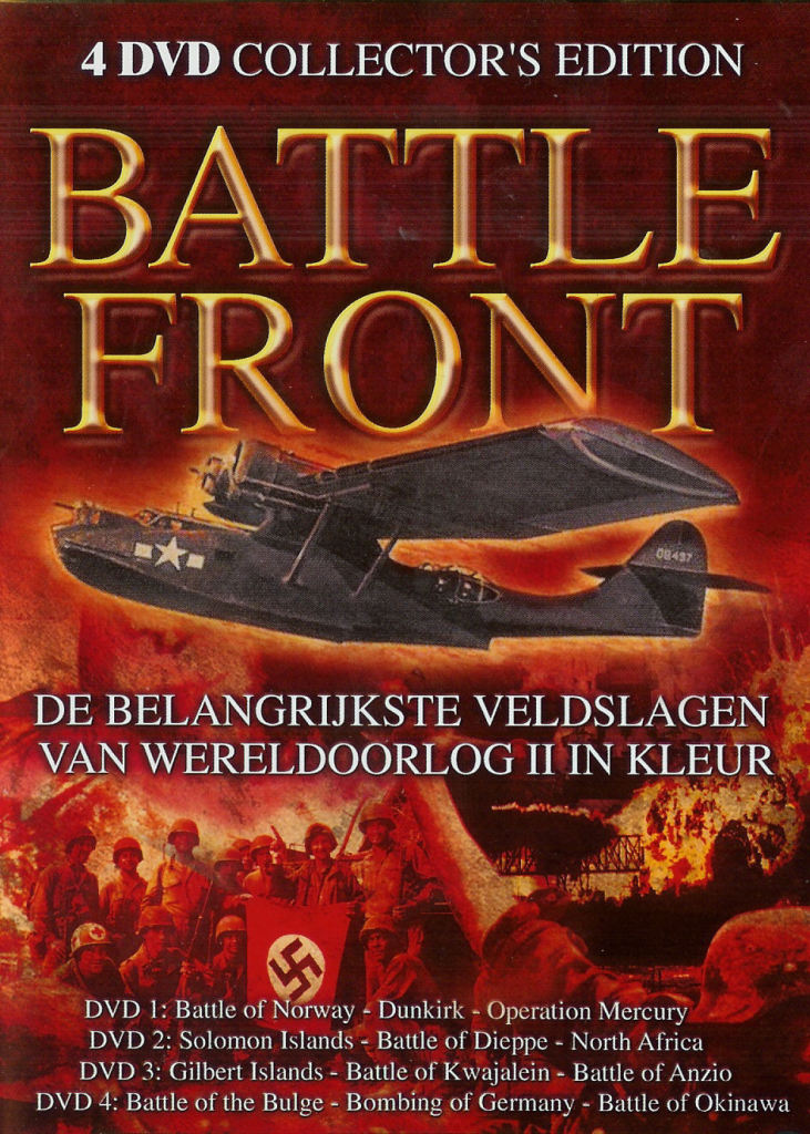 Battle Front 1 - Collector's Edition - DVD 4: Battle of the Bulge, Bombing of Germany, Battle of Okinawa