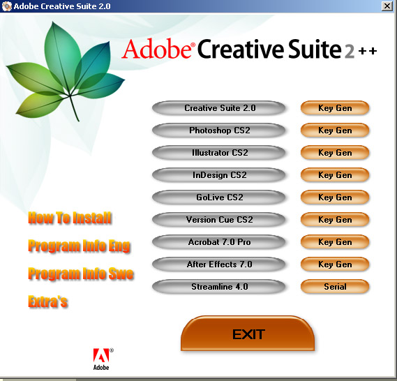 Adobe CS2++ Reloaded