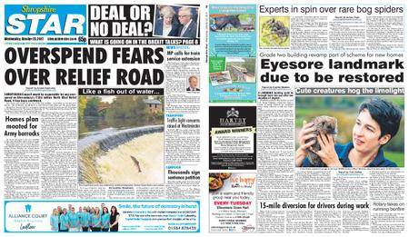 Shropshire Star Shrewsbury Edition – October 25, 2017