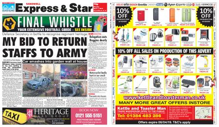 Express and Star Sandwell Edition – April 01, 2019