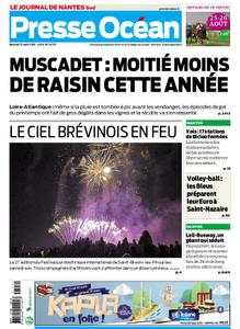 Presse Océan Nantes Sud Vignoble – 21 août 2019