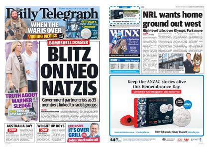 The Daily Telegraph (Sydney) – October 29, 2018