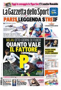 La Gazzetta dello Sport Roma – 26 gennaio 2019