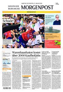 Solinger Morgenpost – 26. Januar 2019