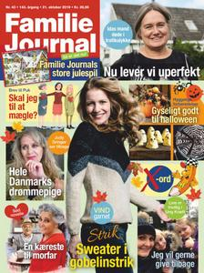 Familie Journal – 21. oktober 2019