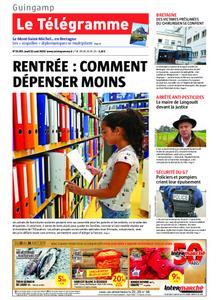 Le Télégramme Guingamp – 22 août 2019