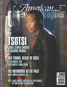 American Cinematographer Magazine March 2006