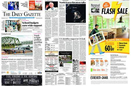 The Daily Gazette – May 16, 2018