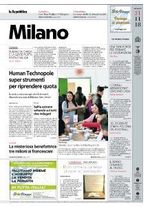 la Repubblica Milano - 21 Novembre 2018