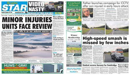 Shropshire Star Shrewsbury Edition – October 10, 2017