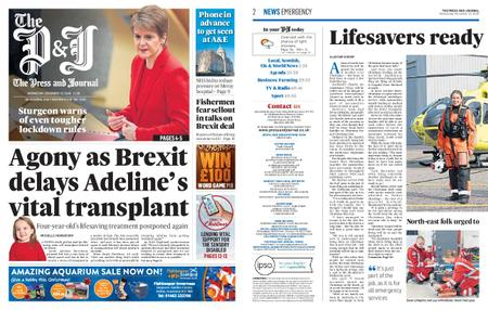 The Press and Journal Moray – December 23, 2020