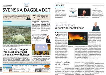 Svenska Dagbladet – 09 oktober 2018