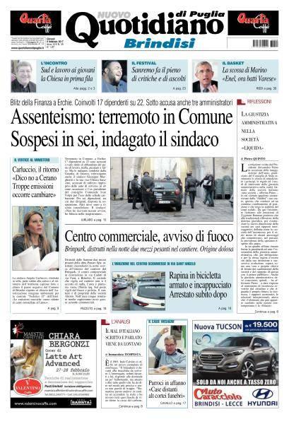 Quotidiano di Puglia Brindisi - 9 Febbraio 2017