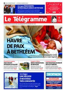 Le Télégramme Concarneau – 22 décembre 2019