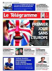 Le Télégramme Guingamp – 02 février 2020