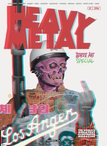 Heavy Metal 296 2019 4 covers Digital Mephisto