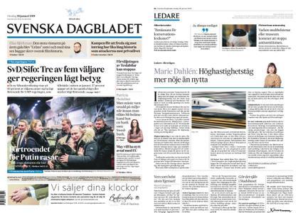 Svenska Dagbladet – 30 januari 2019
