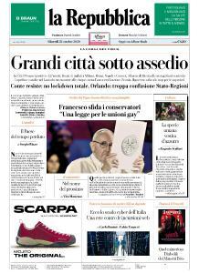 la Repubblica - 22 Ottobre 2020
