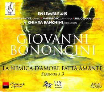 Chiara Banchini, Ensemble 415 - Giovanni Bononcini: La Nemica D'Amore Fatta Amante (2003)