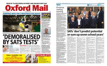 Oxford Mail – December 23, 2019