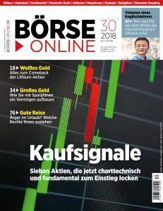 Börse Online - 26 Juli 2018