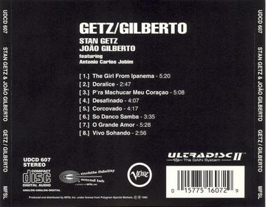 Stan Getz & Joao Gilberto - Getz Gilberto - MFSL