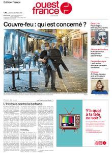 Ouest-France Édition France – 23 octobre 2020