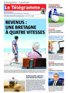 Le Télégramme Guingamp – 25 août 2019