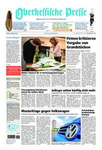 Oberhessische Presse Marburg/Ostkreis - 02. November 2018