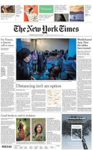International New York Times - 21-22 March 2020