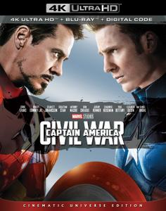 Captain America: Civil War (2016) [4K, Ultra HD]