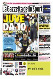 La Gazzetta dello Sport Roma – 20 settembre 2018