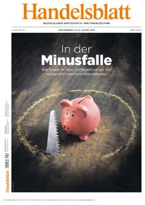Handelsblatt - 02. August 2019