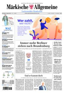 Märkische Allgemeine Luckenwalder Rundschau - 27. August 2019