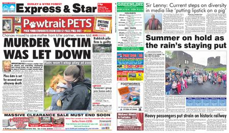 Express and Star Dudley and Wyre Forest Edition – June 12, 2019