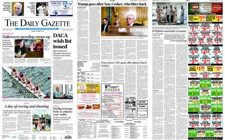 The Daily Gazette – October 09, 2017