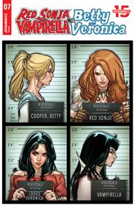 Red Sonja and Vampirella Meet Betty and Veronica 007 2019 5 covers digital Son of Ultron