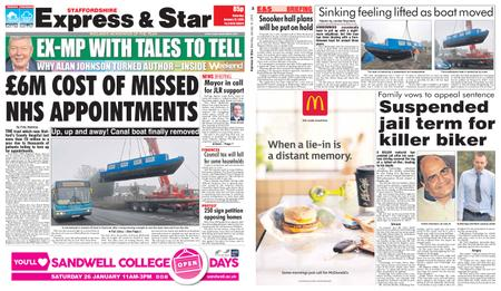 Express and Star Staffordshire Edition – January 12, 2019