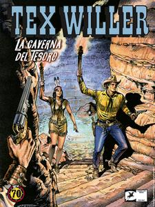 Tex Willer N.4 - La caverna del tesoro (02-2019) (Nuova Serie)