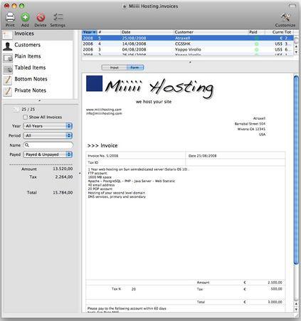 Invoices 2.6