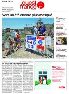 Ouest-France Édition France – 24 juillet 2020