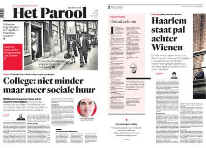 Het Parool – 15 oktober 2018