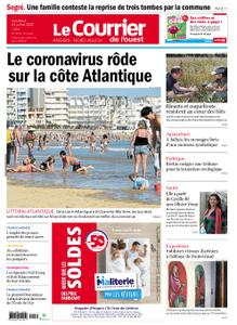 Le Courrier de l'Ouest Angers – 24 juillet 2020