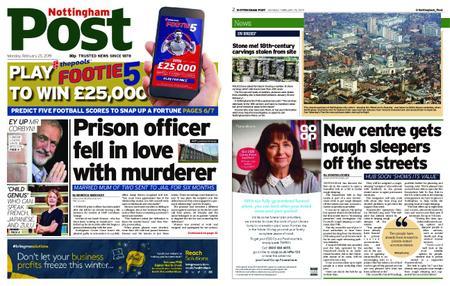 Nottingham Post – February 25, 2019
