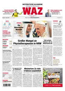 WAZ Westdeutsche Allgemeine Zeitung Oberhausen-Sterkrade - 04. Februar 2019