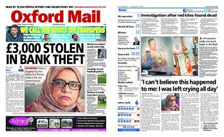 Oxford Mail – January 19, 2018