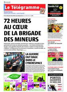 Le Télégramme Brest Abers Iroise – 16 juin 2019