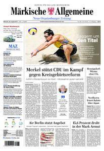 Neue Oranienburger Zeitung - 30. August 2017