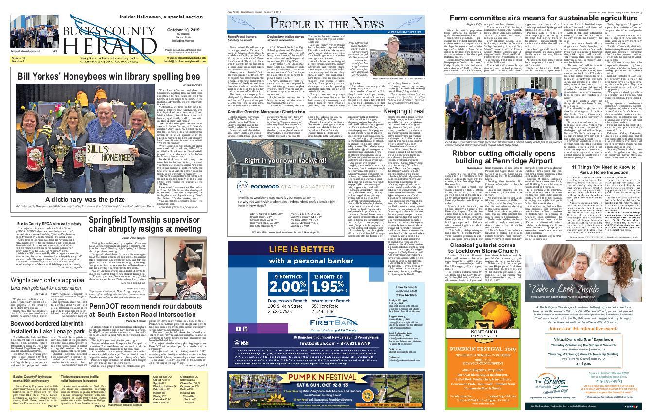 Bucks County Herald – October 09, 2019